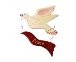 Dove with Peace Banner
