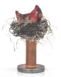 Male Cardinal on VintageSpool